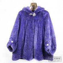 新款进口水貂中长女款海宁貂皮大衣女进口奥兰貂皮皮草外套